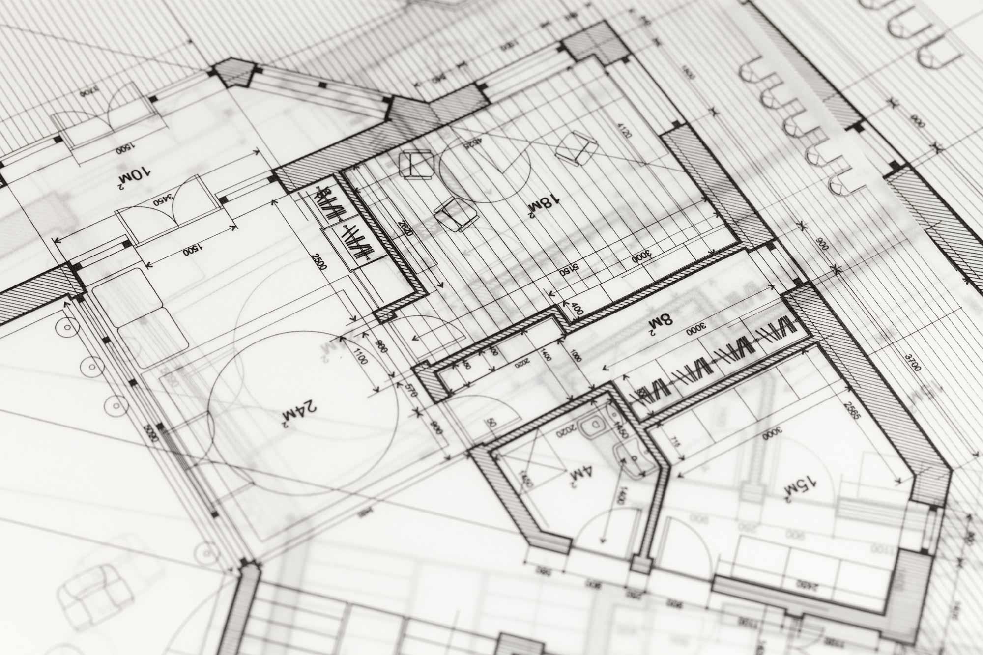 Planung der Ausführung durch Architekturbüro