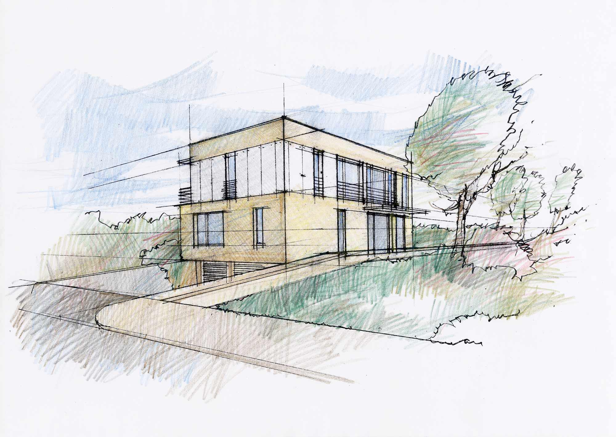 Entwurf durch Architekturbüro